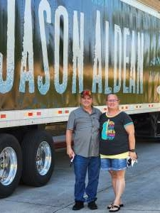 Mike Mills  attended Jason Aldean: Back in the Saddle Tour 2021 on Sep 11th 2021 via VetTix