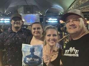 Val  attended Jason Aldean: Back in the Saddle Tour 2021 on Sep 11th 2021 via VetTix