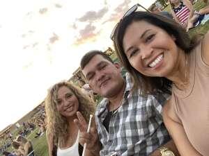 Ellie  attended Jason Aldean: Back in the Saddle Tour 2021 on Sep 11th 2021 via VetTix