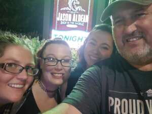 Terry Hood attended Jason Aldean: Back in the Saddle Tour 2021 on Sep 11th 2021 via VetTix