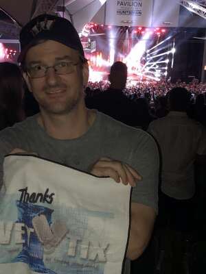 Mike attended Jason Aldean: Back in the Saddle Tour 2021 on Sep 11th 2021 via VetTix
