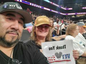 Mel Lo attended IFL United Bowl Arizona Rattlers V. Massachusetts Pirates on Sep 12th 2021 via VetTix