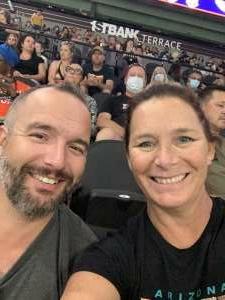 Dawn attended IFL United Bowl Arizona Rattlers V. Massachusetts Pirates on Sep 12th 2021 via VetTix