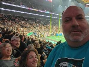 Don attended IFL United Bowl Arizona Rattlers V. Massachusetts Pirates on Sep 12th 2021 via VetTix