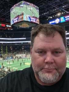 Wallace  attended IFL United Bowl Arizona Rattlers V. Massachusetts Pirates on Sep 12th 2021 via VetTix