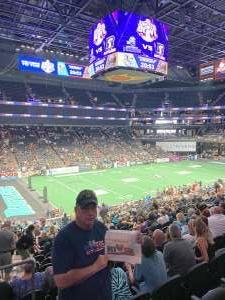 Terry attended IFL United Bowl Arizona Rattlers V. Massachusetts Pirates on Sep 12th 2021 via VetTix