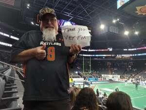 Noel attended IFL United Bowl Arizona Rattlers V. Massachusetts Pirates on Sep 12th 2021 via VetTix