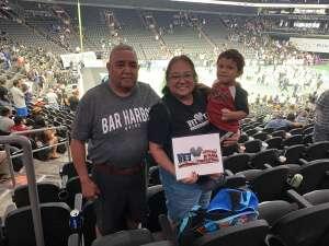 Elizabeth Castro attended IFL United Bowl Arizona Rattlers V. Massachusetts Pirates on Sep 12th 2021 via VetTix