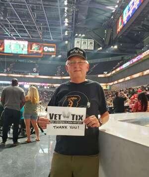 Bob attended IFL United Bowl Arizona Rattlers V. Massachusetts Pirates on Sep 12th 2021 via VetTix