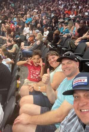 Mike attended IFL United Bowl Arizona Rattlers V. Massachusetts Pirates on Sep 12th 2021 via VetTix