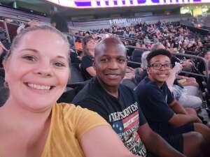 Antoine attended IFL United Bowl Arizona Rattlers V. Massachusetts Pirates on Sep 12th 2021 via VetTix