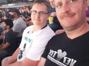 Jerry Dowling attended IFL United Bowl Arizona Rattlers V. Massachusetts Pirates on Sep 12th 2021 via VetTix