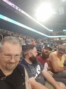 Chuck  attended IFL United Bowl Arizona Rattlers V. Massachusetts Pirates on Sep 12th 2021 via VetTix