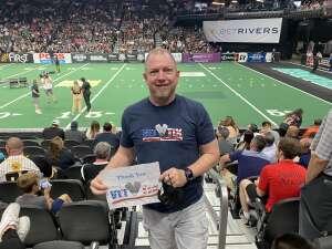 Enery attended IFL United Bowl Arizona Rattlers V. Massachusetts Pirates on Sep 12th 2021 via VetTix