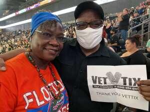 James attended IFL United Bowl Arizona Rattlers V. Massachusetts Pirates on Sep 12th 2021 via VetTix