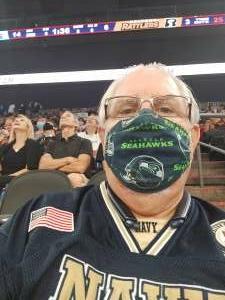 Mark attended IFL United Bowl Arizona Rattlers V. Massachusetts Pirates on Sep 12th 2021 via VetTix