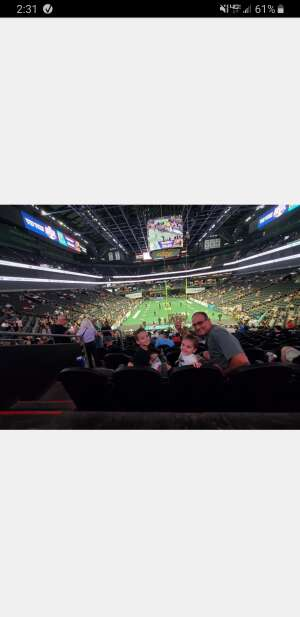 Nick attended IFL United Bowl Arizona Rattlers V. Massachusetts Pirates on Sep 12th 2021 via VetTix