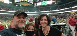Jim attended IFL United Bowl Arizona Rattlers V. Massachusetts Pirates on Sep 12th 2021 via VetTix