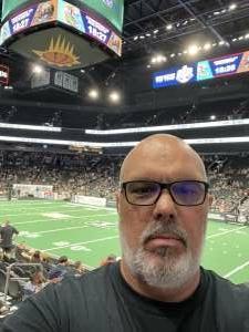 Joe attended IFL United Bowl Arizona Rattlers V. Massachusetts Pirates on Sep 12th 2021 via VetTix