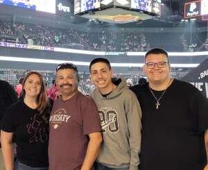 Frankie  attended IFL United Bowl Arizona Rattlers V. Massachusetts Pirates on Sep 12th 2021 via VetTix