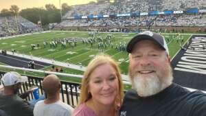 Keith attended Old Dominion Monarchs vs. Hampton Pirates - NCAA Football on Sep 11th 2021 via VetTix