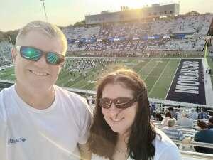 Stephanie attended Old Dominion Monarchs vs. Hampton Pirates - NCAA Football on Sep 11th 2021 via VetTix