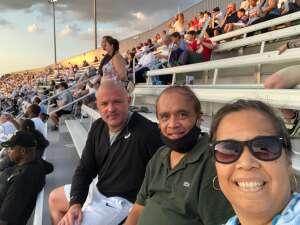 Todd Lowe attended Old Dominion Monarchs vs. Hampton Pirates - NCAA Football on Sep 11th 2021 via VetTix