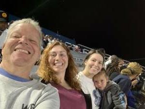 Corinne attended Old Dominion Monarchs vs. Hampton Pirates - NCAA Football on Sep 11th 2021 via VetTix