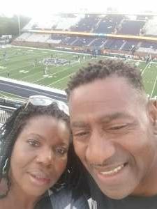 Geri Pollard attended Old Dominion Monarchs vs. Hampton Pirates - NCAA Football on Sep 11th 2021 via VetTix