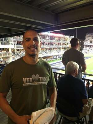 Jason attended Old Dominion Monarchs vs. Hampton Pirates - NCAA Football on Sep 11th 2021 via VetTix