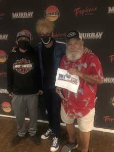 Terry Dikeman attended Murray the Magician on Sep 10th 2021 via VetTix