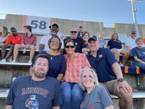 Paul Murphy attended Auburn University Tigers vs. Georgia State Panthers - Homecoming - NCAA Football on Sep 25th 2021 via VetTix