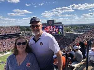 Steve S attended Auburn University Tigers vs. Georgia State Panthers - Homecoming - NCAA Football on Sep 25th 2021 via VetTix