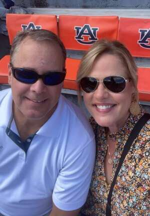 Coker attended Auburn University Tigers vs. Georgia State Panthers - Homecoming - NCAA Football on Sep 25th 2021 via VetTix
