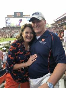 Parks Family attended Auburn University Tigers vs. Georgia State Panthers - Homecoming - NCAA Football on Sep 25th 2021 via VetTix