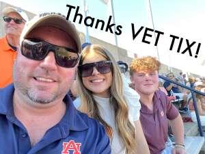 Brian attended Auburn University Tigers vs. Georgia State Panthers - Homecoming - NCAA Football on Sep 25th 2021 via VetTix