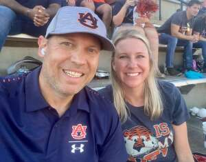 Adam Tyndall attended Auburn University Tigers vs. Georgia State Panthers - Homecoming - NCAA Football on Sep 25th 2021 via VetTix
