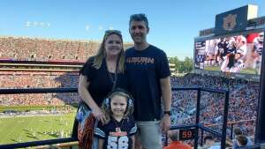 Joe attended Auburn University Tigers vs. Georgia State Panthers - Homecoming - NCAA Football on Sep 25th 2021 via VetTix