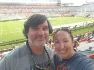 Paul attended Auburn University Tigers vs. Georgia State Panthers - Homecoming - NCAA Football on Sep 25th 2021 via VetTix