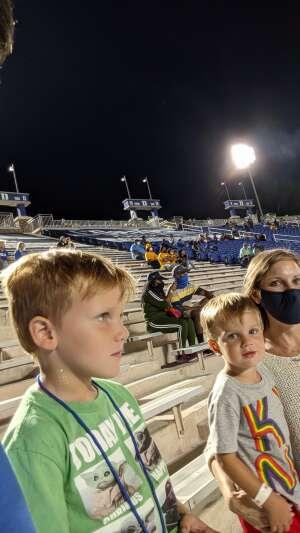 Paul attended Duke Blue Devils vs. North Carolina A&T Aggies - NCAA Football on Sep 10th 2021 via VetTix