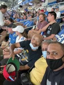 HB attended Detroit Lions vs. San Francisco 49ers - NFL on Sep 12th 2021 via VetTix