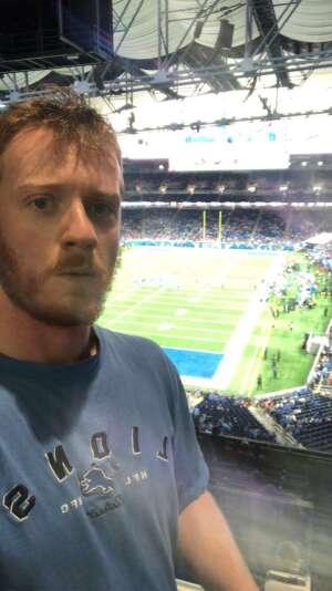 Daniel Neuroth attended Detroit Lions vs. San Francisco 49ers - NFL on Sep 12th 2021 via VetTix