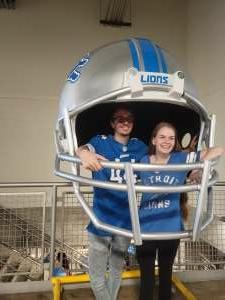 Chip attended Detroit Lions vs. San Francisco 49ers - NFL on Sep 12th 2021 via VetTix