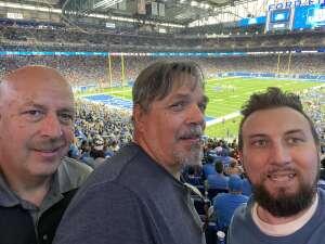 Stephen Henderson  attended Detroit Lions vs. San Francisco 49ers - NFL on Sep 12th 2021 via VetTix