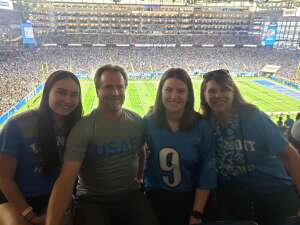 Scott L attended Detroit Lions vs. San Francisco 49ers - NFL on Sep 12th 2021 via VetTix