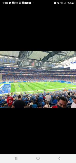 Brandon attended Detroit Lions vs. San Francisco 49ers - NFL on Sep 12th 2021 via VetTix
