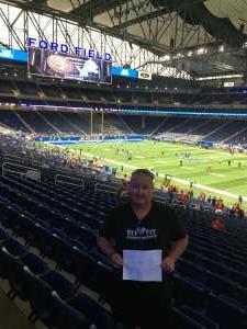 Bill attended Detroit Lions vs. San Francisco 49ers - NFL on Sep 12th 2021 via VetTix