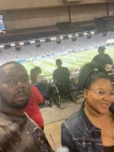 Ralph attended Detroit Lions vs. San Francisco 49ers - NFL on Sep 12th 2021 via VetTix