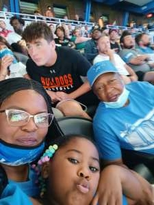 Ernest  attended Detroit Lions vs. San Francisco 49ers - NFL on Sep 12th 2021 via VetTix