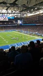 Jim attended Detroit Lions vs. San Francisco 49ers - NFL on Sep 12th 2021 via VetTix